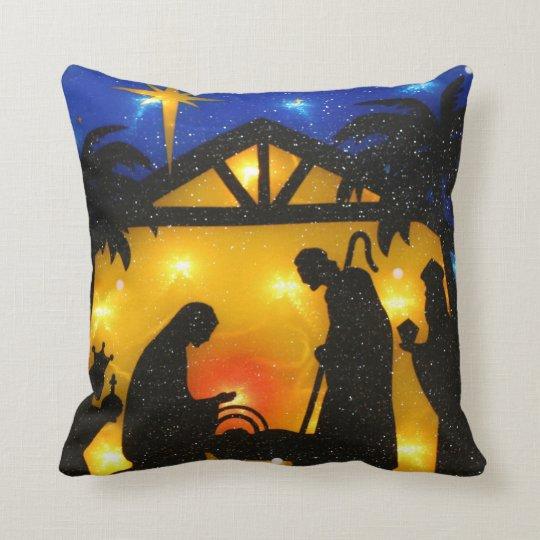 Christmas Throw Pillow/Baby Jesus Throw Pillow