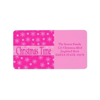 Christmas Time label