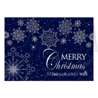 CHRISTMAS - TO DAD & his LOVELY WIFE Card