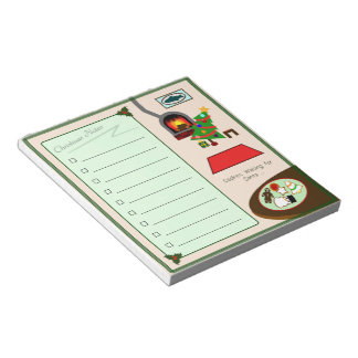 Christmas To-do List Notepad