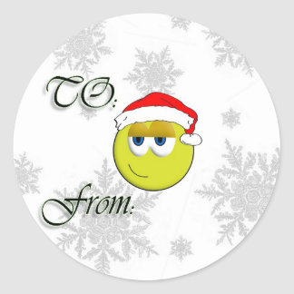 Christmas To From Sticker