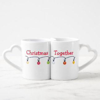 Christmas together coffee mug set