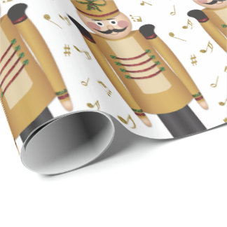 Christmas Toy Soldier Nutcracker Xmas Wrapping Paper