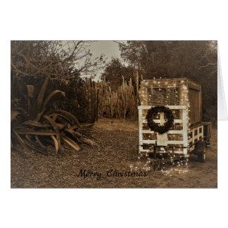Christmas trailer card