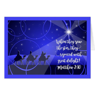 Christmas>TREASURE IN OUR HEARTS, Magi Follow Star Card