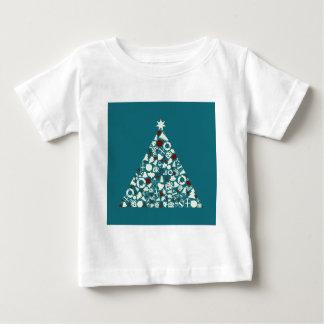 Christmas tree2 baby T-Shirt