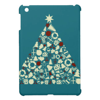 Christmas tree2 cover for the iPad mini