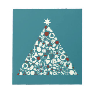 Christmas tree2 notepad