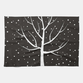 Christmas tree3 kitchen towel