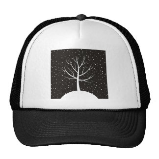 Christmas tree3 trucker hat