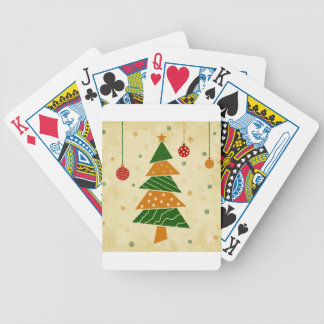 Christmas tree5 bicycle playing cards