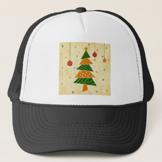 Christmas tree5 trucker hat