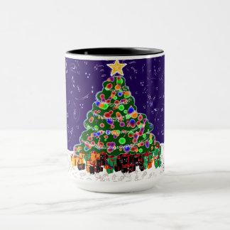 CHRISTMAS TREE  2017  - 2nd in series Mug