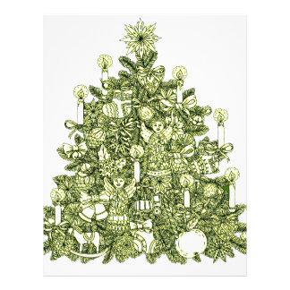 Christmas Tree 2 Letterhead