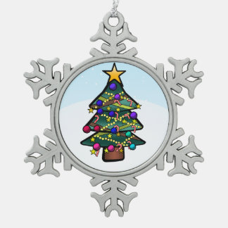 Christmas Tree 2 Ornament