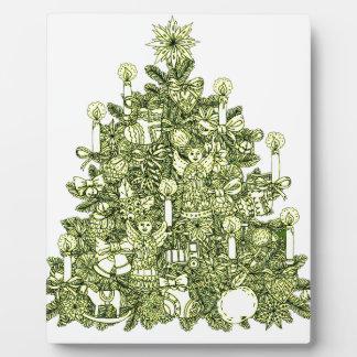 Christmas Tree 2 Plaque