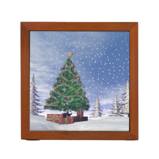 Christmas tree - 3D render Desk Organizer