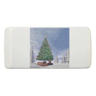 Christmas tree - 3D render Eraser