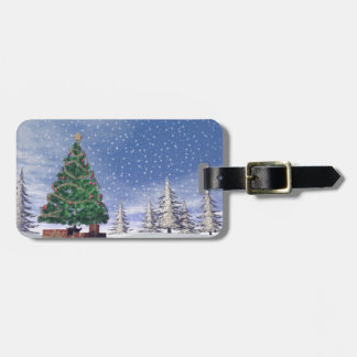 Christmas tree - 3D render Luggage Tag