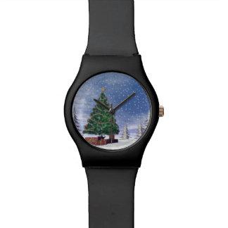 Christmas tree - 3D render Watch