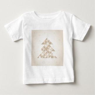 Christmas tree a triangle baby T-Shirt