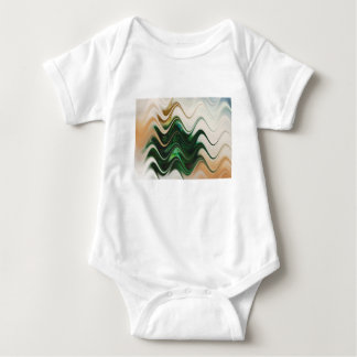 Christmas Tree Abstract Baby Bodysuit