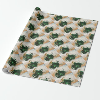 Christmas Tree Abstract Wrapping Paper