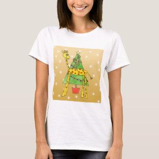 Christmas Tree and Animals. T-Shirt