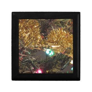 Christmas tree and Christmas decorations Gift Box
