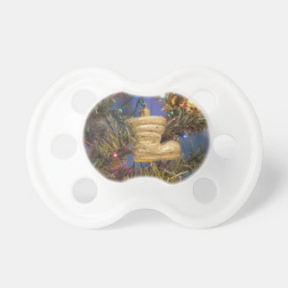 Christmas tree and Christmas decorations Pacifier