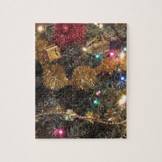 Christmas tree and Christmas decorations Puzzles