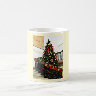 Christmas tree and decorations coffee mug