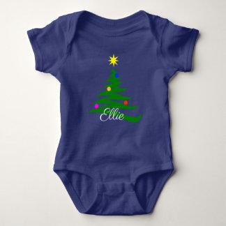 Christmas Tree Baby Bodysuit