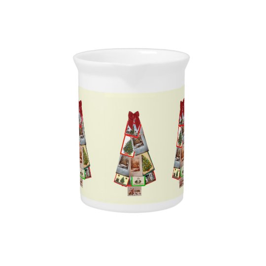 Christmas Tree Beverage Pitcher