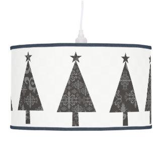 Christmas Tree Black Lace Stylish Modern Simple Pendant Lamp