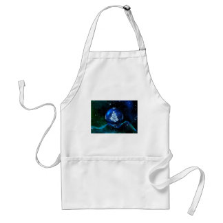 christmas tree blue ball standard apron
