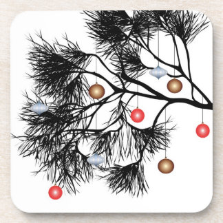Christmas Tree Branch Coaster