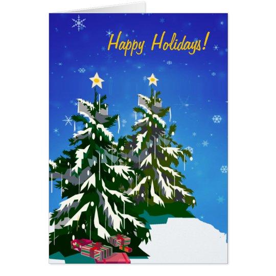 Christmas Tree Card2 Card