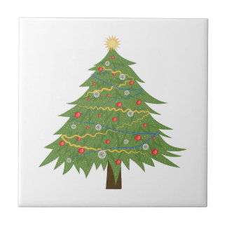 Christmas Tree Ceramic Tiles