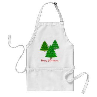 Christmas Tree Chef's Apron