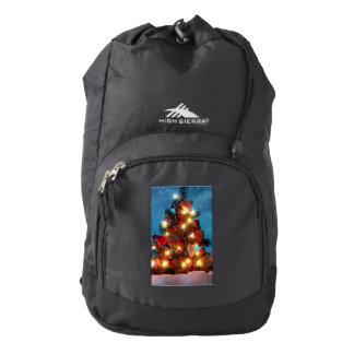 Christmas tree - Christmas decorations -Snowflakes Backpack