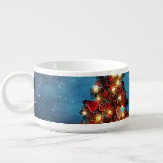 Christmas tree - Christmas decorations -Snowflakes Bowl