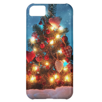 Christmas tree - Christmas decorations -Snowflakes iPhone 5C Case