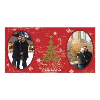Christmas Tree Christmas Photo Card