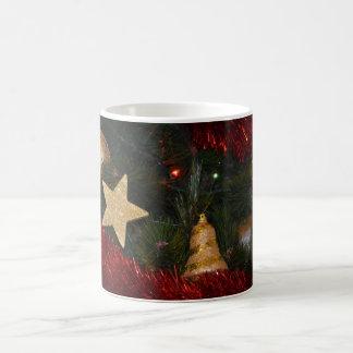 Christmas tree decorations mug