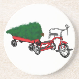 christmas tree delivery coaster