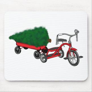 christmas tree delivery mouse pad