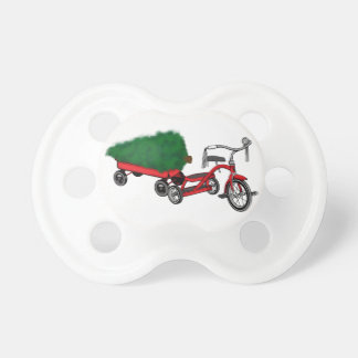 christmas tree delivery pacifier