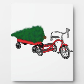 christmas tree delivery plaque