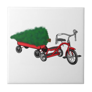 christmas tree delivery tile